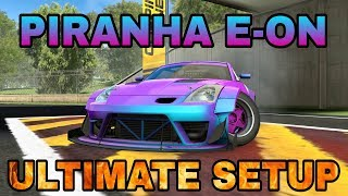 Piranha E-ON Ultimate Setup + Test Drive! (Nissan 350Z) King Of JDM Phase Car   CarX Drift Racing