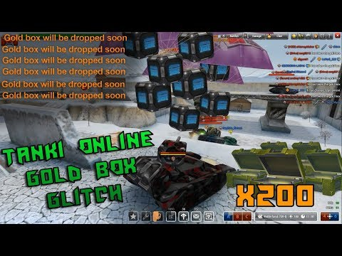 TANKI ONLINE | HUGE GOLD BOX GLITCH x100 DROP | BLACK FRIDAY