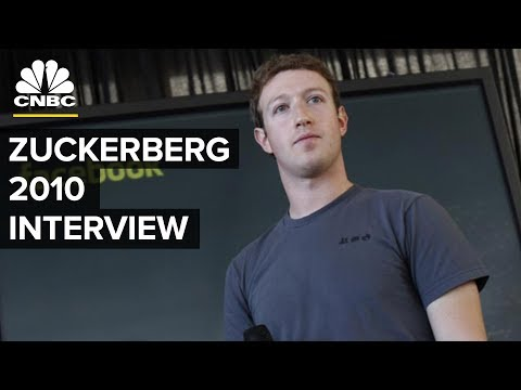 Mark Zuckerberg 2010 Interview: Facebook's Privacy Concerns   CNBC