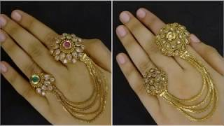Latest Double Finger Ring Designs