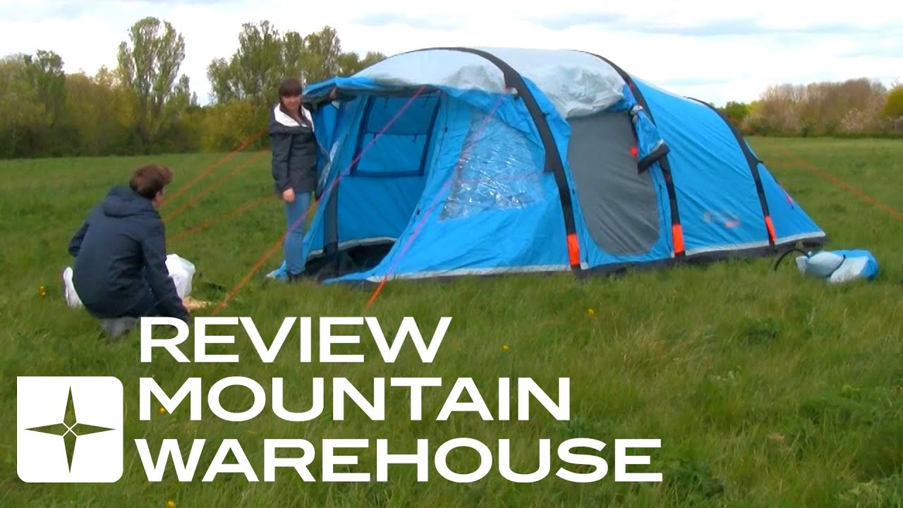 & Titan Inflatable 4 Person Tent Review - YouTube