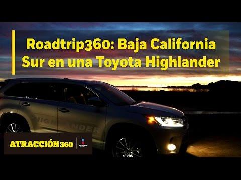 RoadTrip360 - Toyota Highlander Baja California Sur