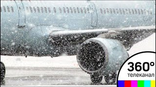 Более 100 рейсов отменили в Шереметьево из-за непогоды