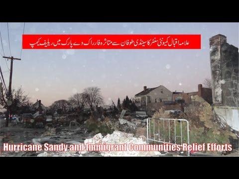 Hurricane Sandy & Role of Immigrant Communities