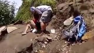 Pengakuan wanita yang ditinggal di gunung ciremai