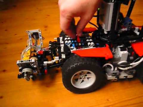 lego technic tractor youtube. Black Bedroom Furniture Sets. Home Design Ideas