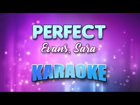 Evans, Sara - Perfect (Karaoke & Lyrics)