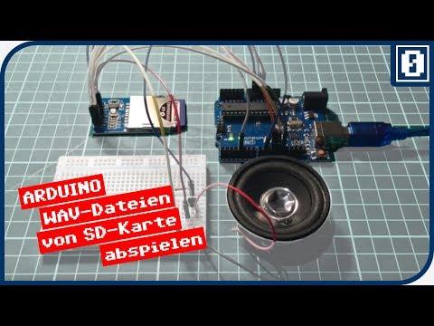 WAV Dateien von SD-Karte mit Arduino abspielen