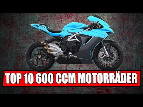 TOP 10 MOTORRÄDER 600 CCM + 2019