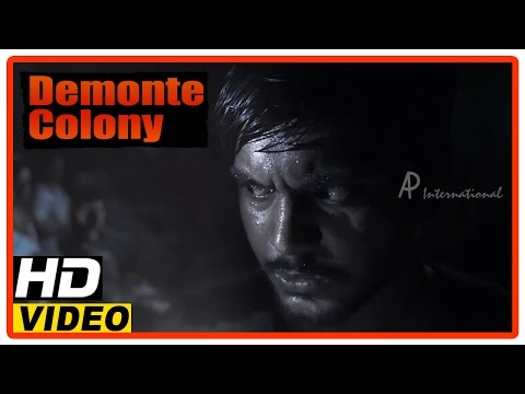Demonte Colony Tamil Movie | Scenes | Abhishek Joseph Cries Out Of Fear | Arulnithi