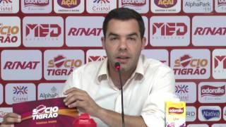 Evandro Junior - Diretor de Marketing do Vila Nova anuncia reformulação no Sócio Tigrão