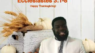 God's Timing is Essential Pastor Grandy 11.22.2020