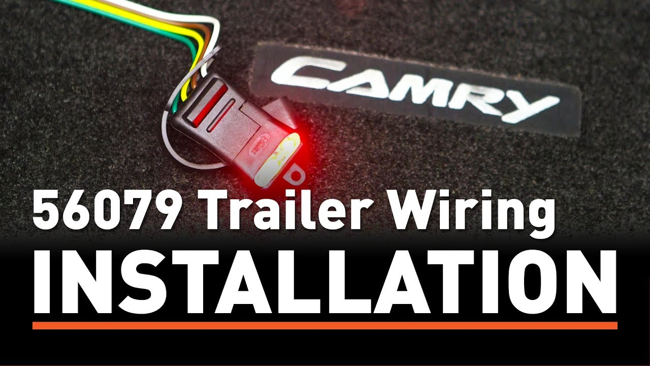 trailer wiring install curt 56079 taillight converter on a toyota camry rh youtube com