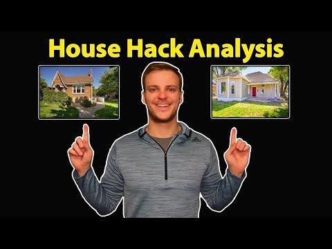 House Hacking In Salt Lake City, Utah | Investment Analysis Breakdown Of 2 Properties