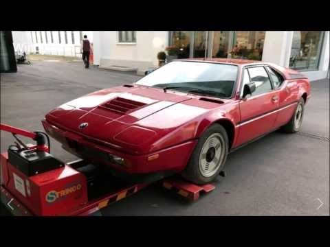 1981 BMW M1 Supercar found in Italian Garage after 34 years