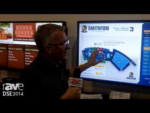 DSE 2014: Visix Displays Its Interactive Wayfinding Room Board