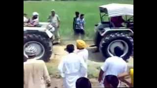 india made vs foreign make tractor   sonalika vs ford - tractor stunts