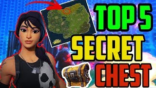 TOP 5 | FORTNITE SECRET CHEST'S | Pr0xY