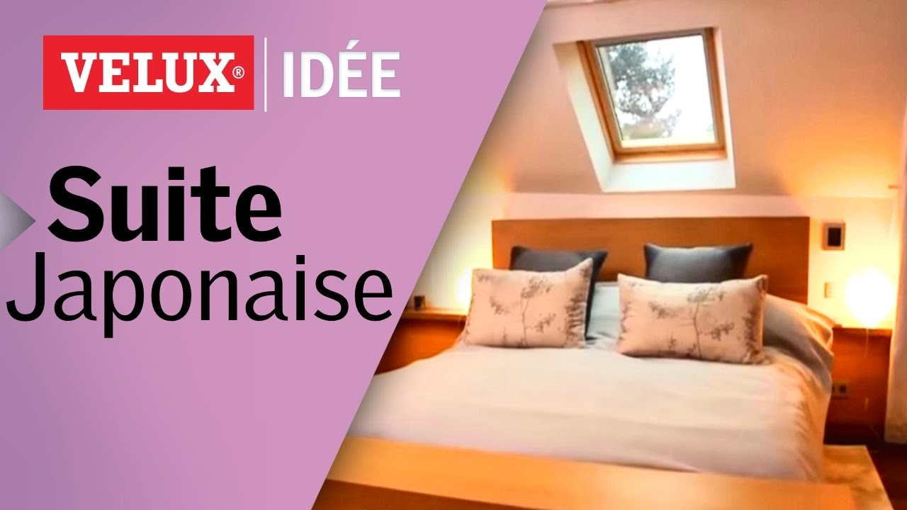 comment cr er une suite parentale japonaise sous les toits. Black Bedroom Furniture Sets. Home Design Ideas