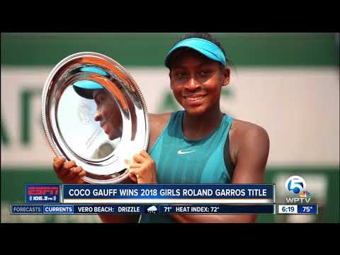 Delray Beach resident Coco Gauff wins junior French Open title