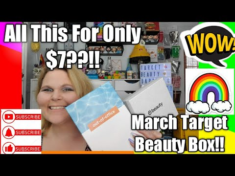 🎁🎁 Target Beauty Box March 2020 Subscription 👄🛒 | Giveaway Info + More!!