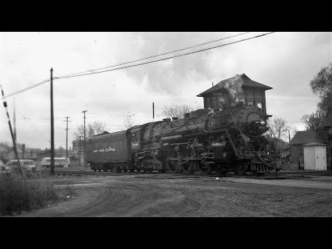 New York Central Hudson Steam Locomotives [4K]