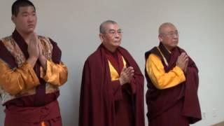 佛陀們認證了第三世多杰羌佛  看似平淡聖蹟  唯有佛陀能行