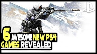 6 NEW PS4 GAMES JUST REVEALED - OPEN WORLD RPG, FPS, METROIDVANIA + MORE!