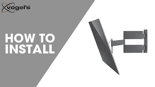 How To install THIN 445 | TV wall mount | Vogel's