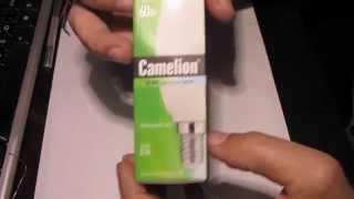 Светодиодная лампа Camelion LED6.5(Обзор светодиодной лампы Camelion LED6.5-C35/845/E14 Лампа предоставлена магазином электропара: http://electropara.ru/ Смотрите..., 2015-04-19T03:35:12.000Z)