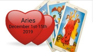 Aries ❤ December 2019 *Calling in major changes for the better *