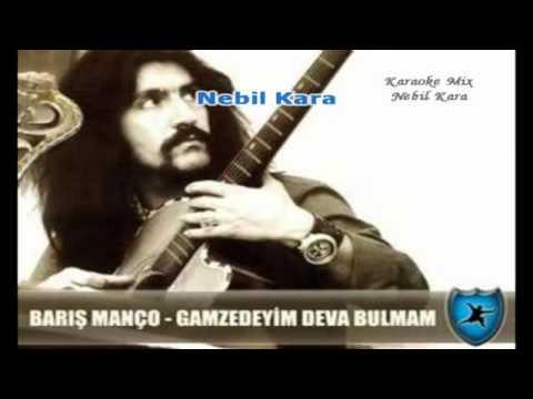 TURKCE KARAOKE GAMZEDEYIM BARIS MANCO