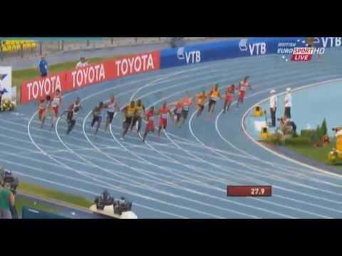 2013 IAAF World championships men 4x100m relay FINAL