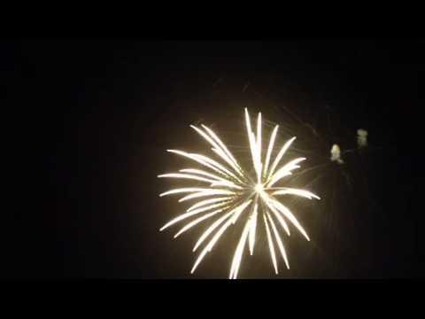 Memorial Day fireworks at Waretown New Jersey