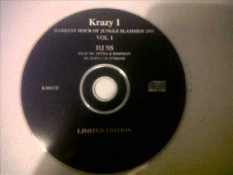 The Darkest Hour Of Jungle Slammer 2001 - Krazy 1 Productions - Dj SS - Mc Spyda & Bassman - K101CD