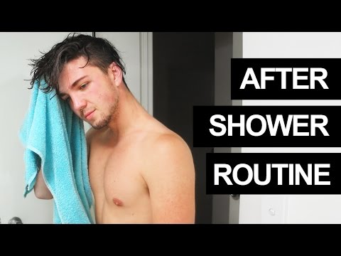 My After Shower Routine - Hair Care & Cosmetics