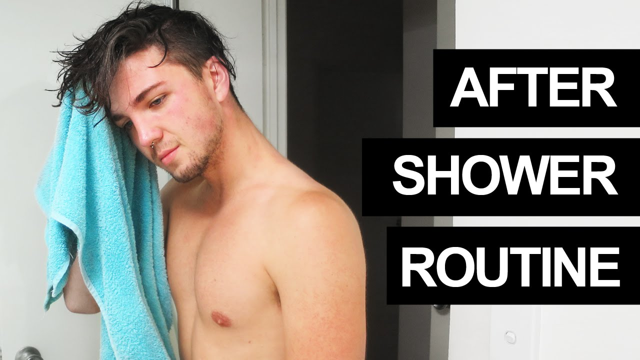 shower Gay men long haired
