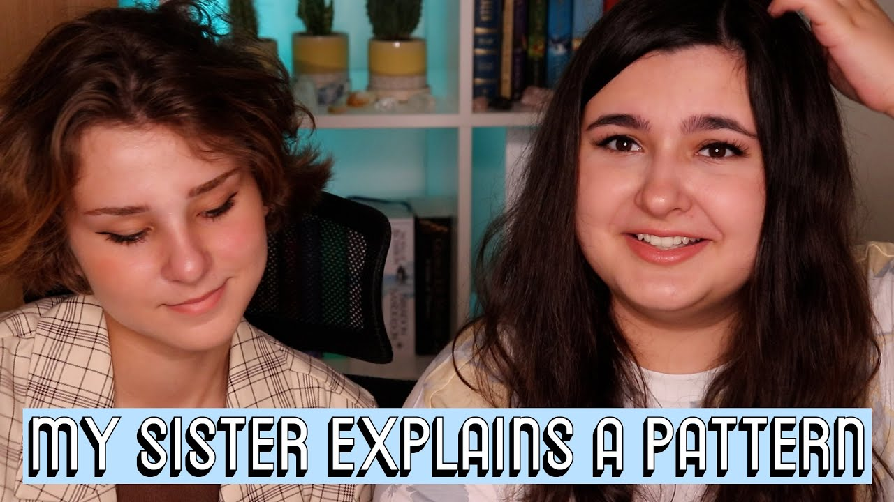 MY SISTER EXPLAINS A PATTERN TO ME [CC] || Friendship Bracelets