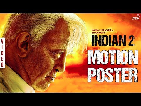INDIAN 2 MOTION POSTER | Kamal Haasan | Shankar | Anirudh