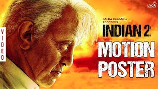 INDIAN 2 MOTION POSTER