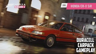 Honda CR-X SiR Gameplay - Duracell Car Pack June - Forza Horizon 2