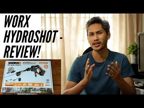 Worx Hydroshot hands-on review - Portable pressure washer