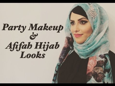 Party Makeup | Afifah Hijab Looks - YouTube