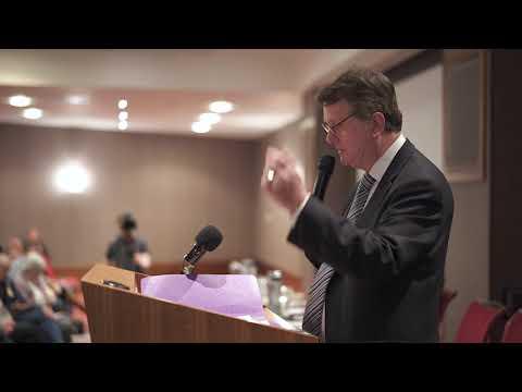 UKIP Leader Gerard Batten speaks in Durham