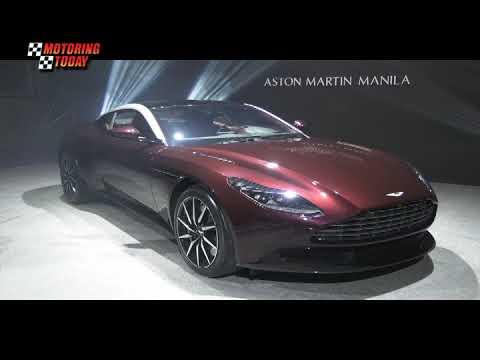 ASTON MARTIN MANILA UNVEILS DB11 4.0 LITER   Industry News