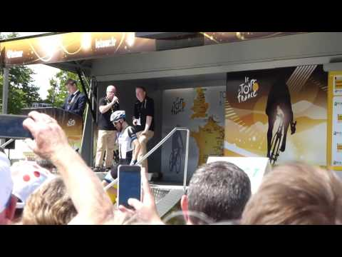 Interview with Marcel Kittel Le Tour 2014 Cambridge, 1080 HD