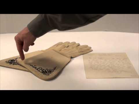 Museum Monday 1/28/13: General Philip Sheridan's Gauntlets