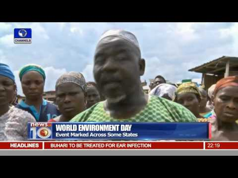 News@10: Nigerians Mark World Environment Day, Await Government's Intervention  05/06/16 Pt. 2