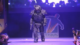 Cosplay Fallout X-01 /Epic Con 2019/
