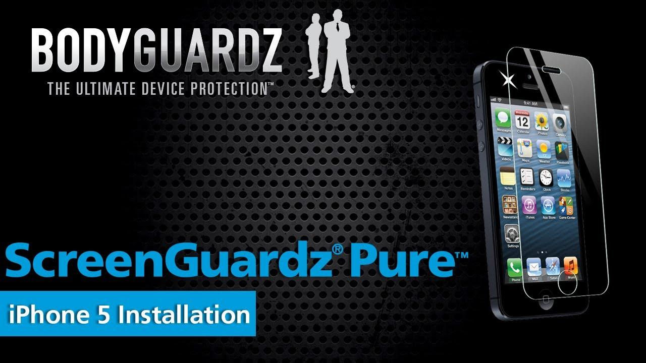Bodyguardz Screenguardz Pure Iphone